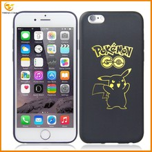low price slim pokemon tpu soft case for iphone 6