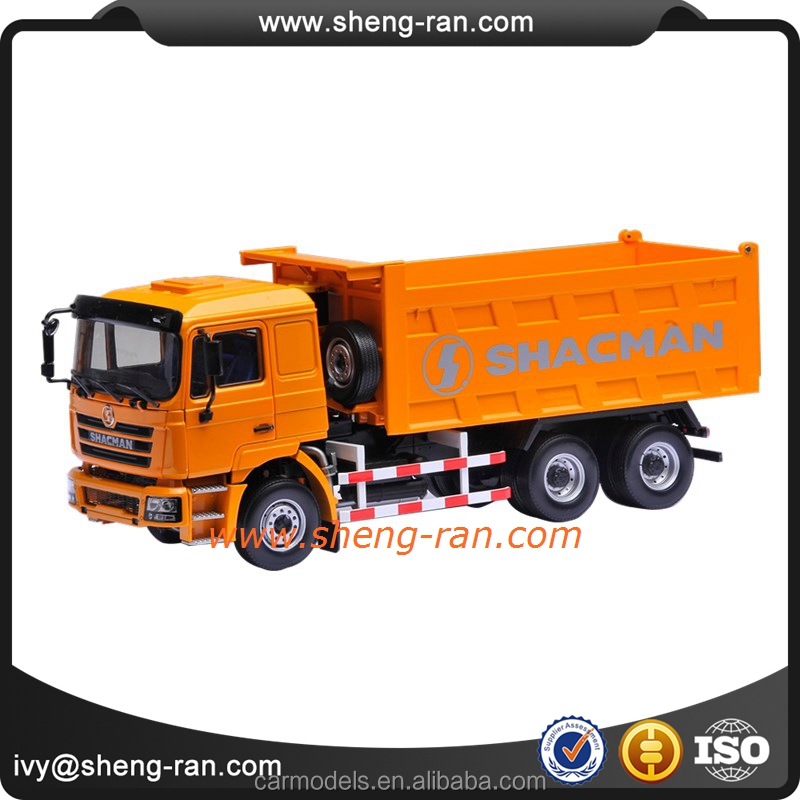 high precision diecast mini dump truck model for kids,scale dumper lorry models
