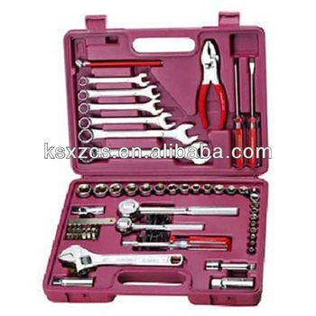 China portable hard plastic tools set in case