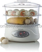 hot sale Pyrex Glass food Steamer made in china