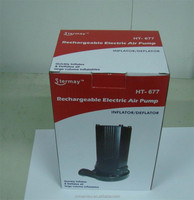 HT-677 Rechargeable electric air pump
