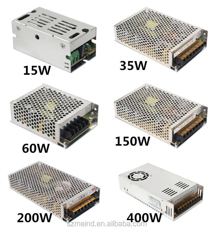5V/12V/24V 15A AC/DC switch power supply 200W power supply with CE ROHS approved