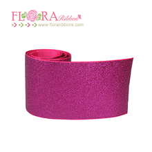wholesale soft glitter all over printing ribbon for bows