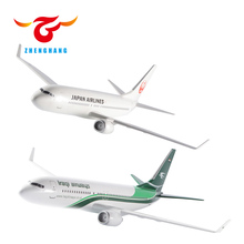 B737-800 resin plane model with stand all scale options aircraft model for Boeing Airbus Bombardier