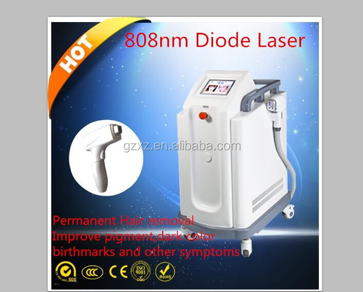 2016 CE Approved Non invasive 808nm diode laser hair removal price /permanent hair removal machine for sale