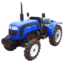 Chinese agricultural equipment 45HP 4WD wheel-style farm tractor