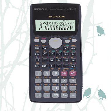 factory scientific calculator FX-570MS 10+2 digits calculator
