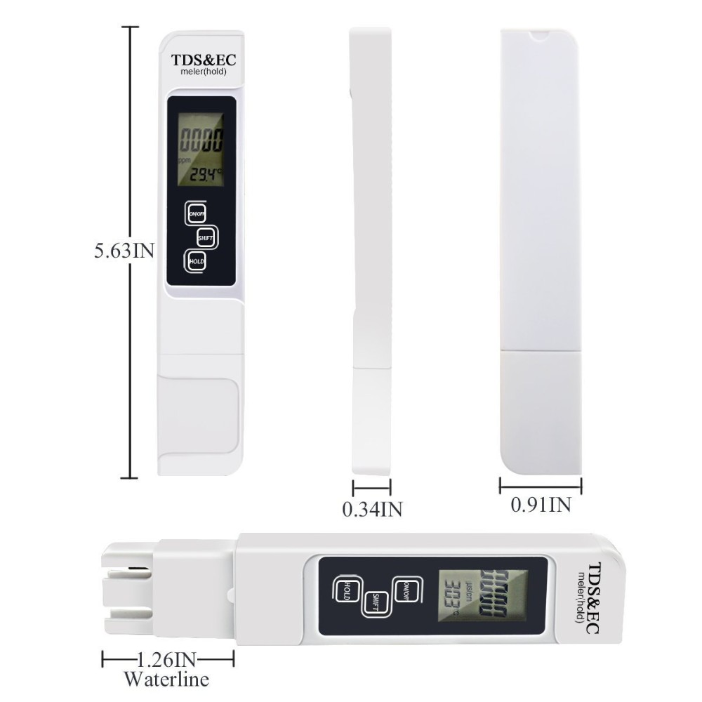 new arrivals 2017 pen type TDS meter ec meter