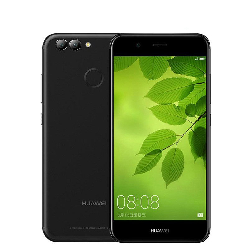 Original Huawei Nova 2 4GB RAM 64GB ROM 20.0MP Front Camera Mobile Phone 5.0 inch Kirin 659 Octa Core Android 7.0 Dual SIM
