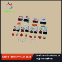 6 models Deutsch DT06 DT04 2 3 4 6 8 12 Pin Engine Gearbox waterproof electrical connector for car bus motor truck
