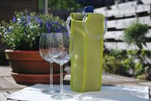 Waterproof neoprene bottle wine tote bags