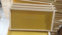 90% beeswax comb foundation sheet for langstroth beehive