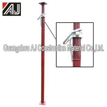 Q235 adjustable steel scaffolding shoring prop for India