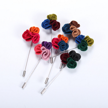 Brooch flower for coats brooch pin men suit