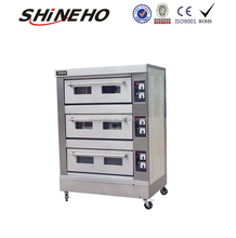 B017 Industrial Kitchen Gas Ovens Names For Bakery Equipment