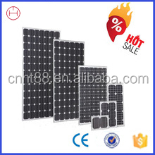 cheap price 100w monocrystalline solar panel for large promotion