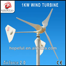 Electrical green energy portable windmill 1kw
