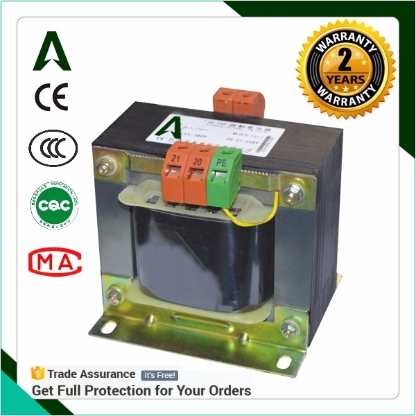 BK small control transformer single phase control transformer ac step down transformer