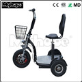 2018 New Design 48V 500W Brushless Motor 3 Wheel Electric Zappy Scooter / Electric Tricycle with CE