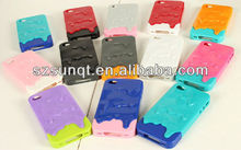 HOT Ice Cream Melting Cover Case For 4/4S
