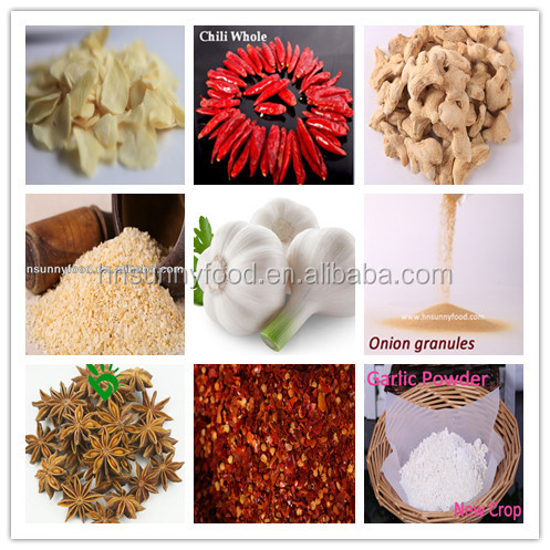 Garlic Chili Onion Ginger Factory Supplier Wholesale Sell Spices