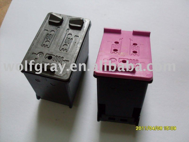 Recycled empty ink cartridge for HP60