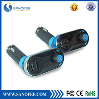 Bluetooth handsfree car kit FM transmitter bluetooth for car with remote control