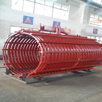 Coil for metal melting furnace induction furnace intermediate frequency