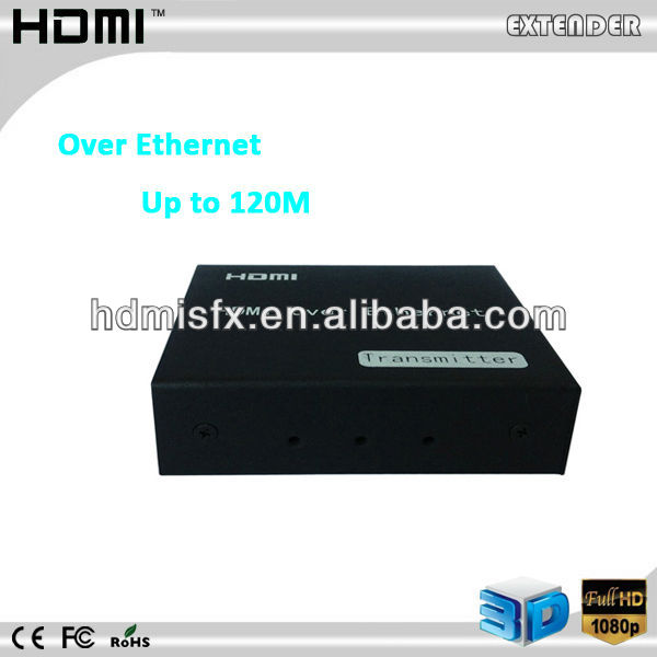Up to 120m HDMI Extender HDMI Over IP HDMI Receiver over Ethernet