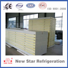 Metal surface Cold room Insulated PU sandwich panel