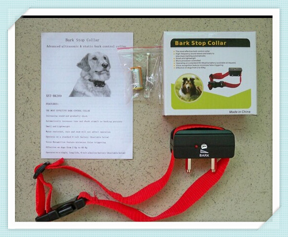 Anti No Bark Dog Training Shock Collar bark stop collar