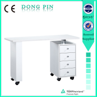 nail manicure table furniture for beauty salon furniture with fan