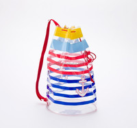 Wholesale Transparent Clear Fashion PVC Beach Bag