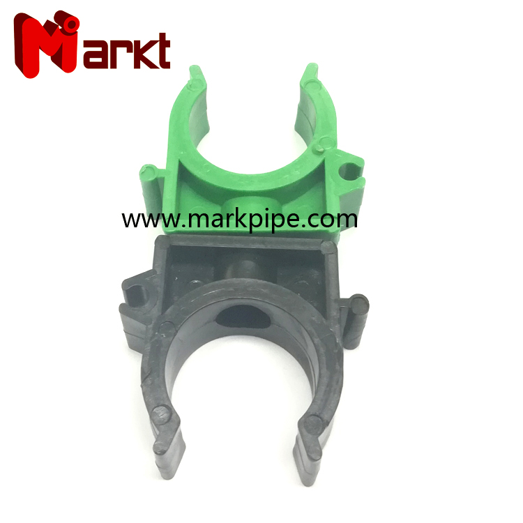 green plastic ppr pipe clamp for ppr pipe