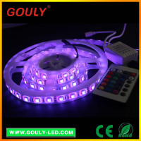 china high quality 5050 rgb led strip black