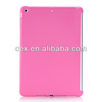 For iPad Air 5 Colorful Gel TPU Jelly Rubber Case Cover Compatible With Smart Cover