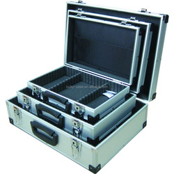 Comforbale Small/Medium/Large Aluminium Metal Flight Case Lockable Aluminum DVD Storage Case