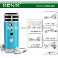 Light Pocket Mini Karaoke Singing Microphone (3.5mm) - 2-channel 3.5mm jack & Build-in Battery New Gadget