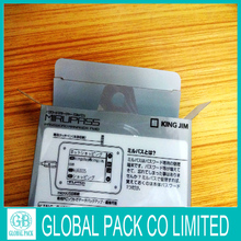 Custom Clear Unfold Plastic Box New Style Plastic Box
