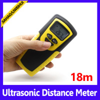 18m digital laser distance meter ultrasonic distance measure with laser pointer