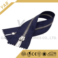 High quality custom color finished metal zipper close end for shoes,boots
