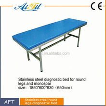 Hot selling patient examination bed with durable PU and sponge surface