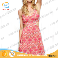 Wholesale New Arrival Summer Beach Party Free Tube Prom Dress Dress