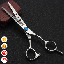 Smart design with diamond CNC screw hairdressing shear HS-60 professional hair cutting scissors