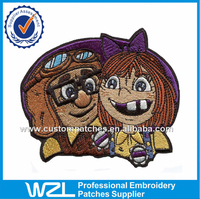Reusable T-shirt decorated cartoon badge patch for clothing