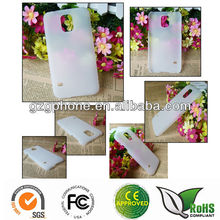 Transparent rubber PC case for Samsung Galaxy S5 cover