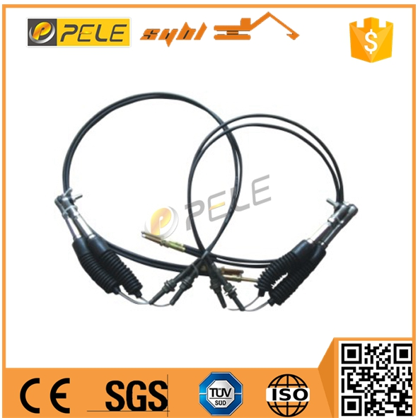 excavator parts hand push pull accelerator cable manual throttle cable and pull cable for e320 machinery 33c 350cm