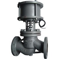 hot sale flange 4'' air-operated casting steel shut-off valve