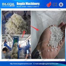 plastic film recycling washing crushing machine plant