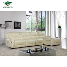 Natural And Comfortable L Shape Sofa With Recliners,Sofa Recliner
